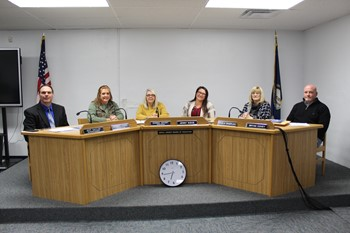 Estill County Board of Education Members Group Photo