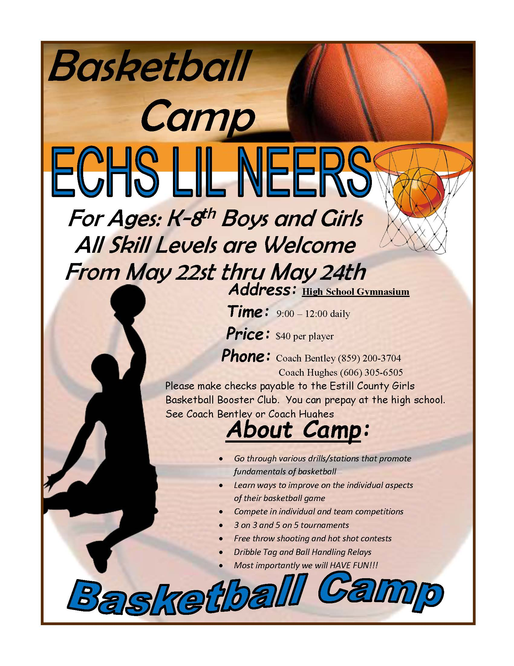 Lil' Neers Basketball Camp