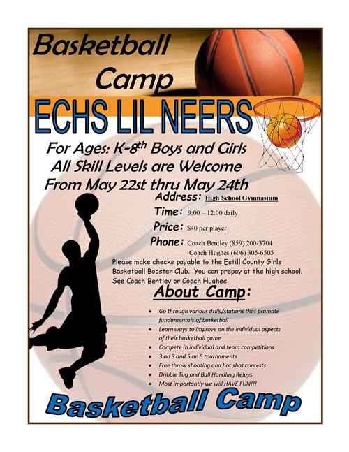 Lil neers basketball camp estill springs elementary lil neers basketball camp stopboris Images